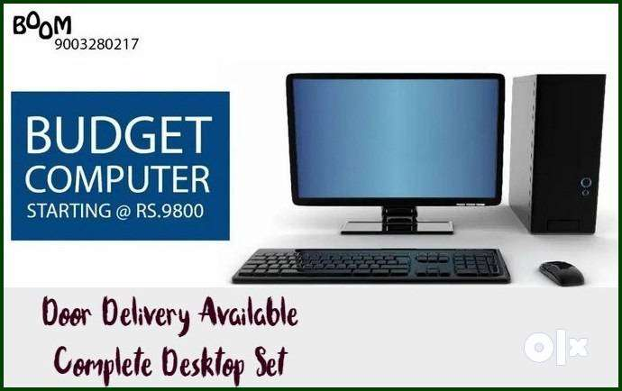 BOOM OFFER BEST For HOME Desktop Set Complete with Warranty & Bill Sta 0