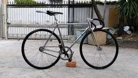 Jual sepeda fixie murah mulus, full NJS, crank Sugino
