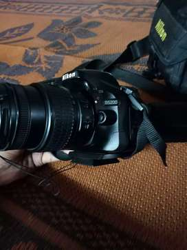 Nikon 5200D. 18.55 lense..good condition