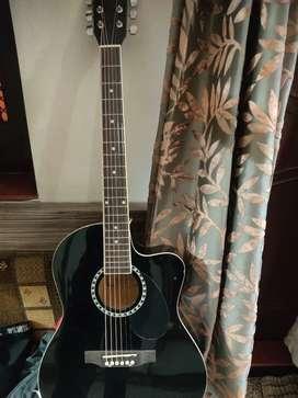 Kaps Guitar,black colour.