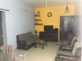 Furnished and well maintained flat