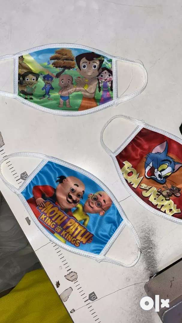 10 pcs printed mask set for KIDS 0