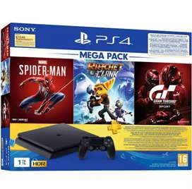 Sony PS4 with 50 games and extra controller