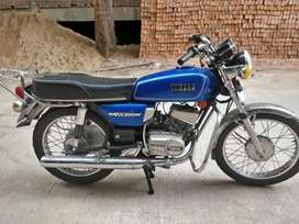 Yamaha Rx 100 in stock condition...sale or exchange