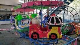 odong panggung robocar tayo gerbong safari M6