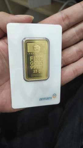 Terima jual emas antam harga tinggi