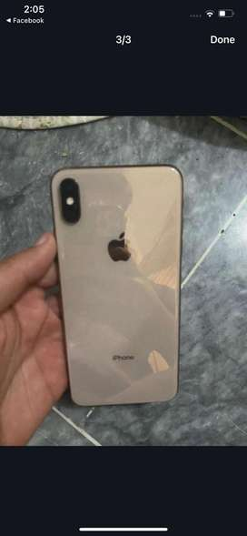 Iphone xs max gold color