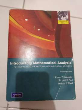Introduction Mathematical Analysis