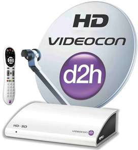 Videocon D2H  setup box