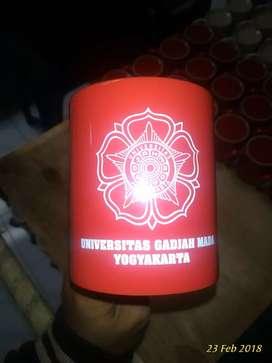 Souvenir mug warna bonus sablon 1 warna