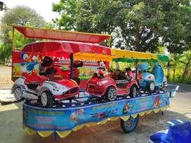odong mobil remot motor kereta mini panggung full lampu hias 11