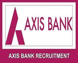 DIRECT RECRUITING AXIS BANK FRESHER