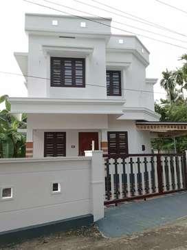 3 bhk 1400 sqft 3.5 cent new build house at edapally varapuzha area