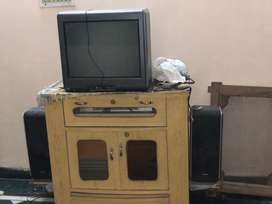 Home theatre with two speakers