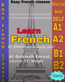 French language classes in sector 77, Noida