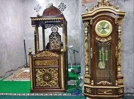 mimbar masjid dan dudukan