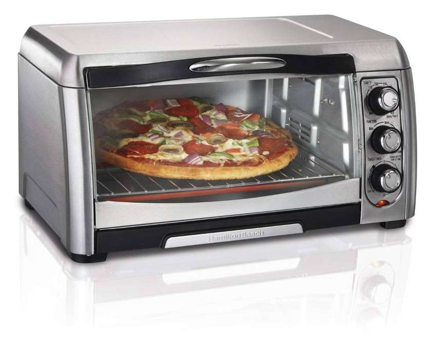 Imported 26 Liter Pizza Electric Toaster Oven / Rotisserie Oven 0