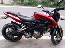 NS 200 red colour