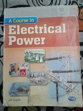A course in Electrical Power by J.B Gupta