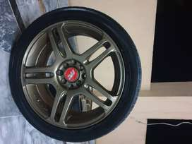 Yokohma low profile tyres and rims for sale