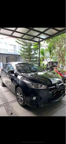 Toyota Yaris G A/T 2015 khusus pemakai , 1 tgn dari baru, like New