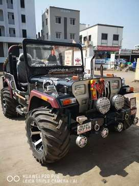 Modified Open Jeep in A1 Condition