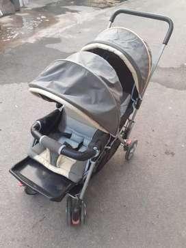 Stroller kembar atau kk adek mulus