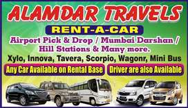 RENT-A-CAR AC / Non Ac Cars available at rental