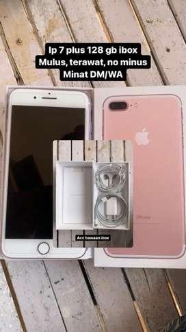 Dijual iPhone 7+ 128gb garansi iBox