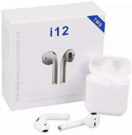 i12 TWS 5.0 Wireless Earphone with Portable Charging Case