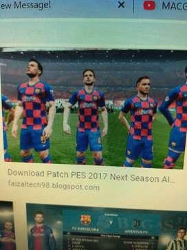 Menyewakan laptop untuk game PES 2017 terbaru