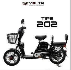Sepeda Listrik Volta 202 Bisa Kredit Tanpa CC By Homecredit
