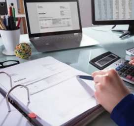 Accountant required in shop and malls