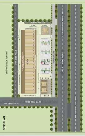 Commercial project showroom & dss in Mohali