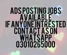 ADS POSTING JOB AVAILABLE HERE