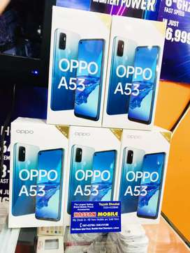 OPPO A53 (4GB/64GB) 16MP Selfie Cam 18W Fast Charge New Box Pack