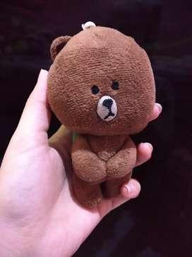 Gantungan boneka brown lucu