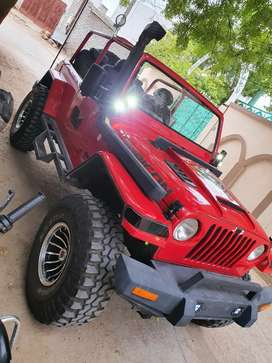 Mahindra 540 modified jeep