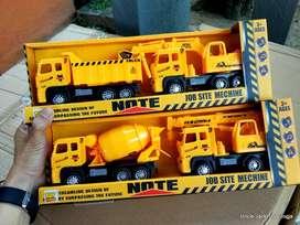 Mainan Anak - Mainan Mobil Mobilan - Miniatur Alat Berat - Mining Set