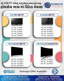 New Thailand Imported Led Tv 17, 24, 32, 40, 43, 50, 55 inch 4K Smart