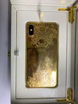 USED APPLE IPHONE XS 256 gb GOLD 24 kt