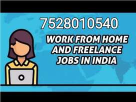 Internet based jobs at your home