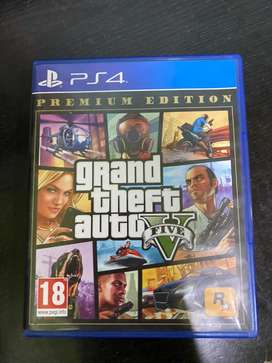 Gta5 premium edition for ps4 slim