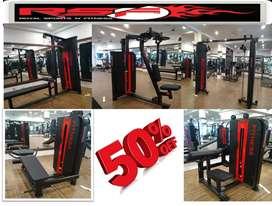 Gym full new branded setup manufacturer