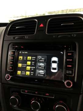 head unit vw golf