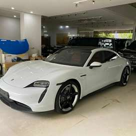 For Sale Porsche TAYCAN 4S 2021 White On Black Red Panoramic Moon Roof