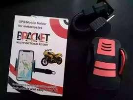 Delivery seDIY holder motor bracket pasang spion - fleksibel Baru