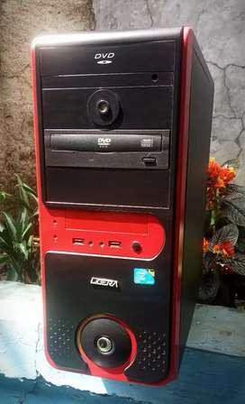 CPU Core2Quad Hardisk 250gb Ram 2gb Mantap