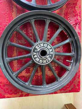 Royal Enfield Alloy wheels new condition