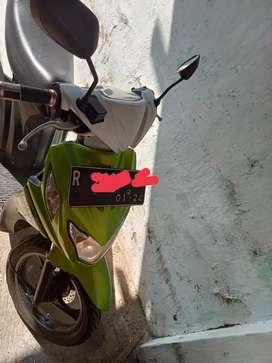 suzuki nex warna hijau putih 2013